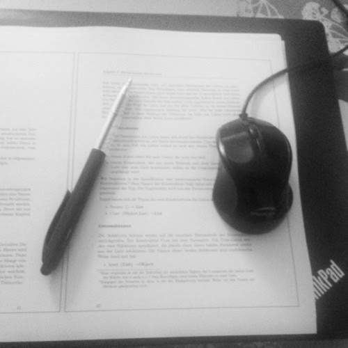 On the table _  studying  #fmsphotoaday