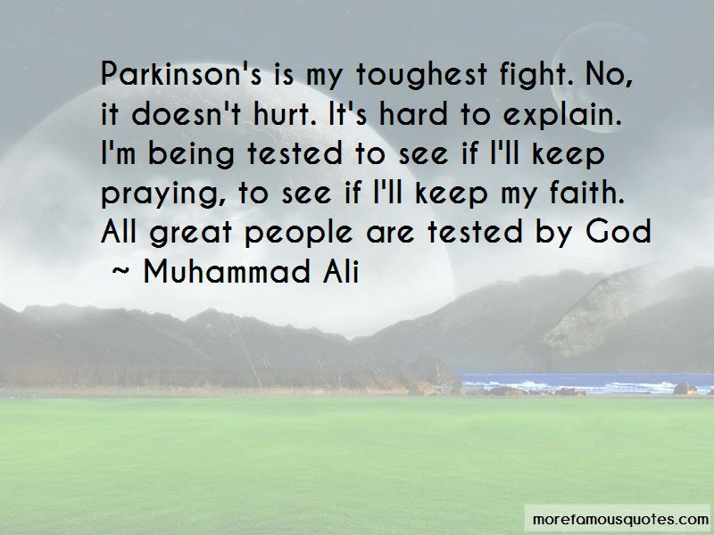 Quotes About Faith Being Tested Top 6 Faith Being Tested Quotes