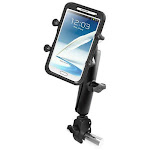 RAM Universal X-Grip IV Phone Cradle with Long Arm and Claw Mount Kit by PilotMall.com