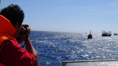 Hoàng Sa, cảnh sát biển, kiểm ngư, đất liền, giàn khoan, bảo vệ Tổ Quốc, chủ quyền, nhìn mặt con