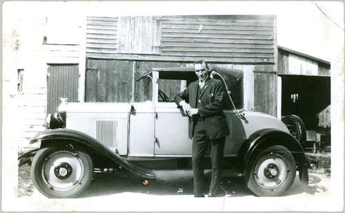 Man and Car