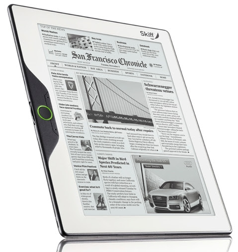 Skiff Reader is largest, thinnest reader yet, hitting a Sprint Store near you