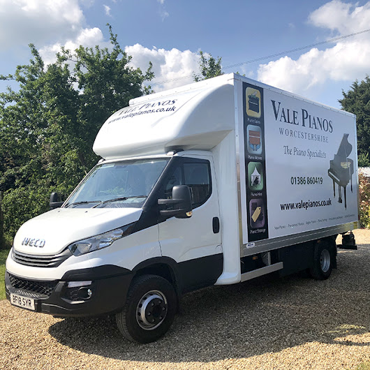 Have you seen our new vehicle? - Vale Pianos