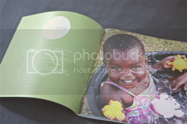 Freelance Graphic Design for Watoto Charity