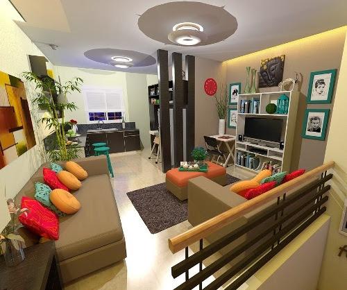 Contoh Desain interior rumah minimalis type 36 72 (Interiorroomdesign)