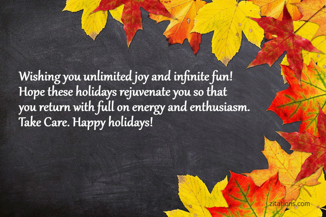 Happy Holiday Wishes And Quotes - Picture Greetings To ...