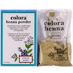 Colora Henna Powder - Natural Organic Haircolor - Option : Natural - 2 oz