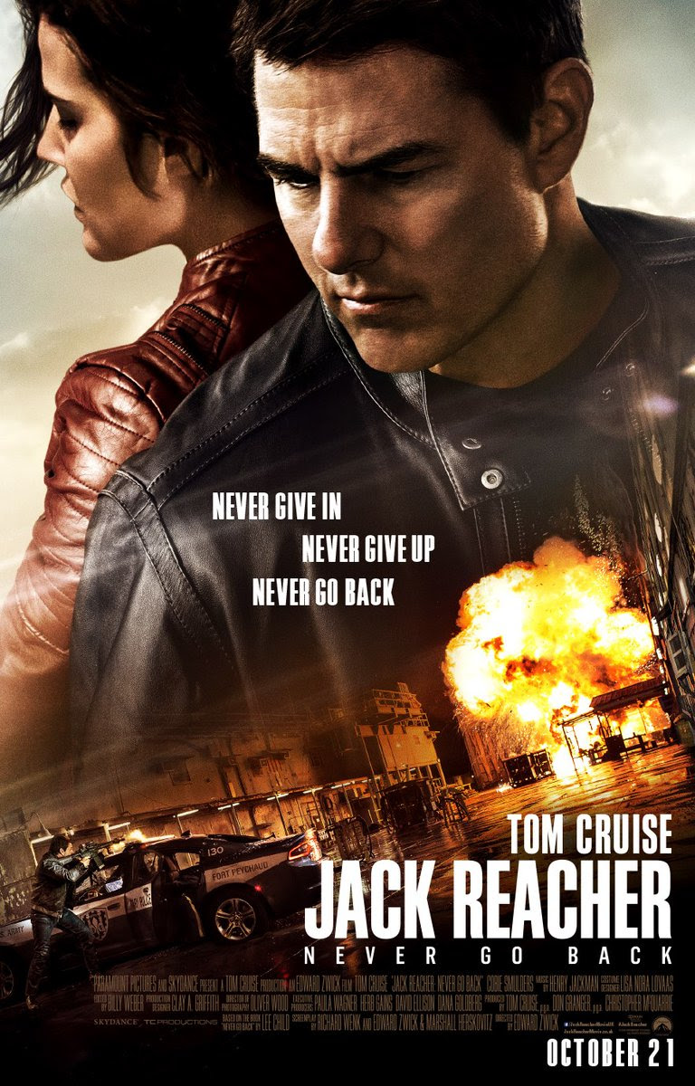Image result for jack reacher never go back