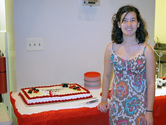 Kayla's high school graduation