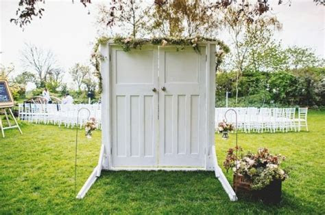 Picture Of Wonderful Wedding Backdrops With Doors