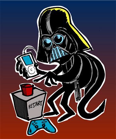 Darth Vader for the Restart Podcast