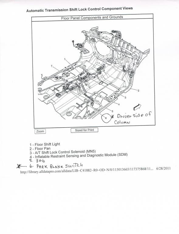30 2006 Chevy Cobalt Shifter Assembly Diagram