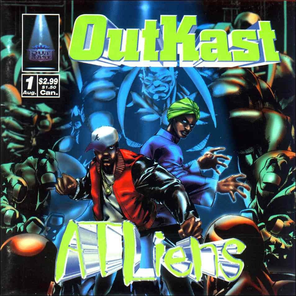 Image result for today In Hip Hop heritage: Outkast Drops Their Sophomore Album ATLiens 22 Years ago