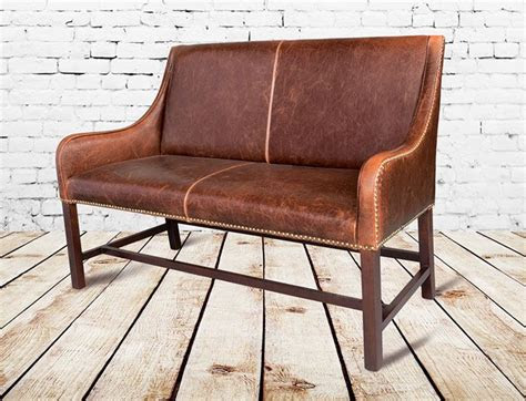manchester leather settee love