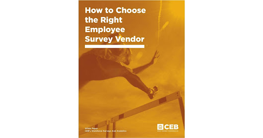 How to Choose the Right Employee Survey Vendor