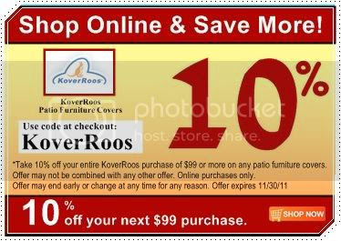 KoverRoos outdoor Furniture, Umbrella and BBQ Covers Review