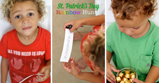 St. Patrick's Day Rainbow Hunt | How Does She