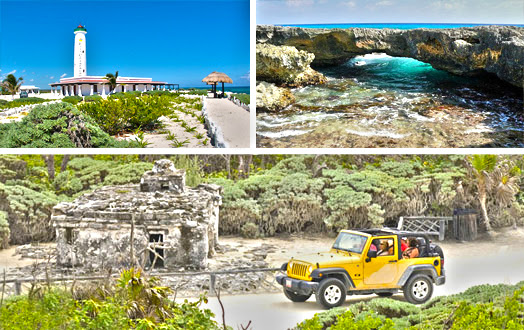 Cozumel Jeep Tour | Custom Cozumel Jeep Excursion in Cozumel 30% OFF