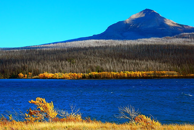 IMG_7654 Divide Mountain and St. Mary Lake, Glacier National Park