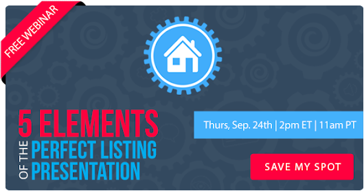 Free Webinar | 5 Elements of the Perfect Listing Presentation | Keeping Current Matters