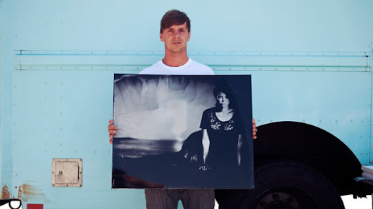 Ian Ruhter's Wet Plate Photography with a Giant Van Camera