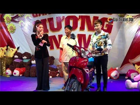 Su Su chơi lớn tặng xe máy miễn phí cho khán giả chơi lô tô tại Hương Nam