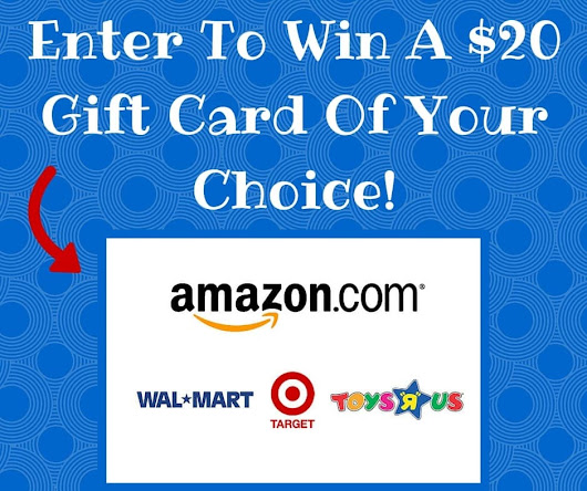 Enter To Win A $20 Gift Card Of Your Choice! - I Don't Have Time For That !