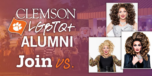Clemson LGBTQ+ Alumni Club Happy Hour Drag Show Scholarship Fundraiser