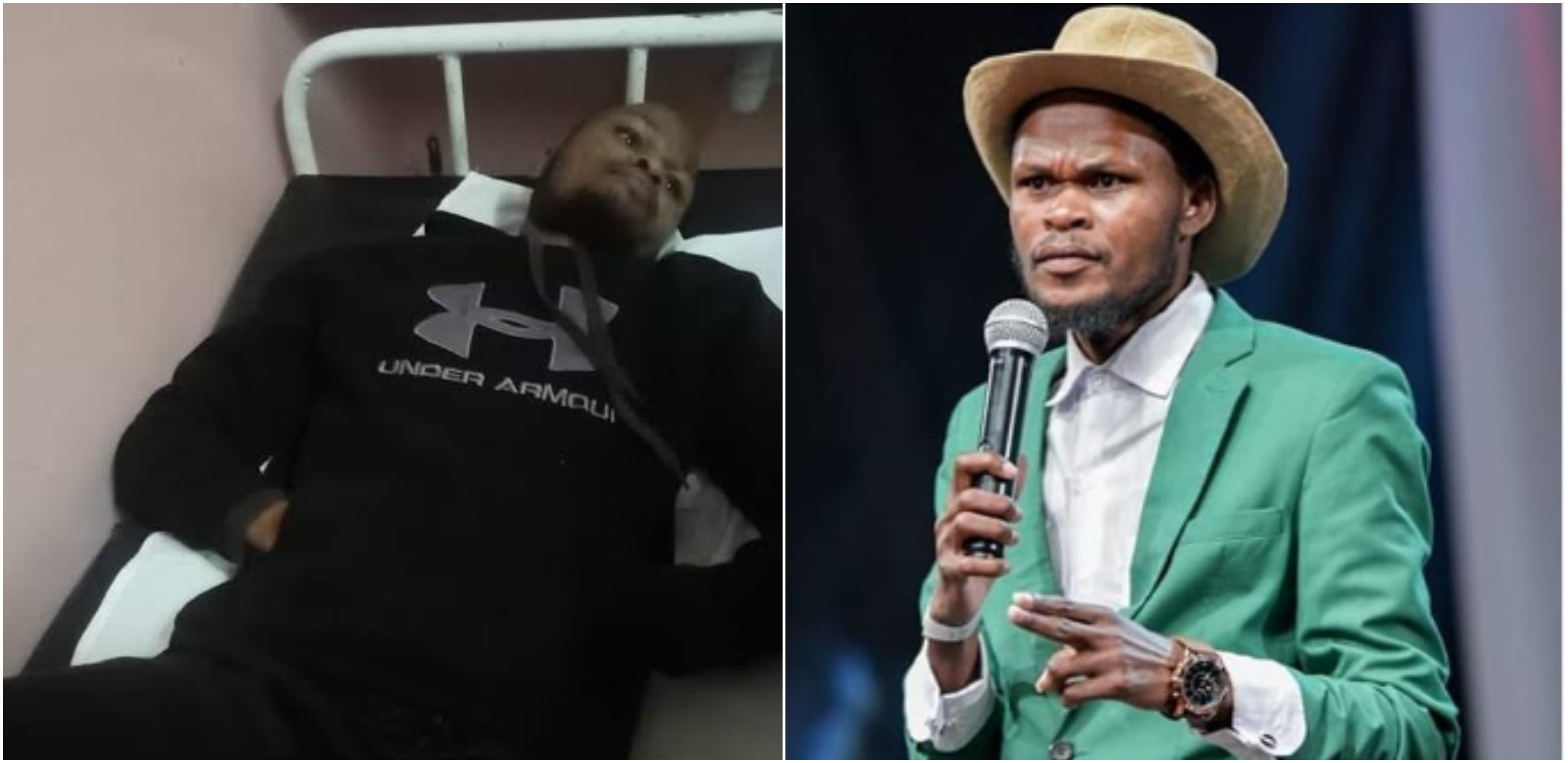 Update on comedian Othuol´s health status a day after ...