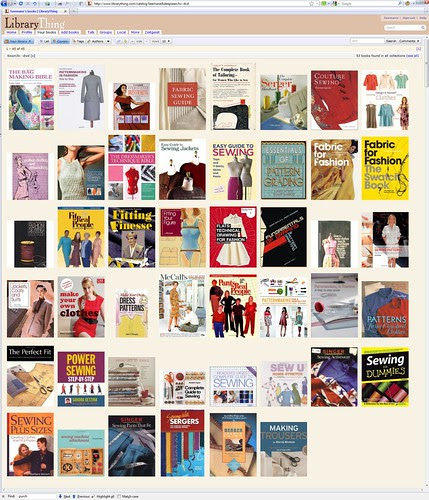 Sewing Books - LibraryThing.com