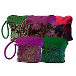 HiyaHiya Small Project Bag for Knit and Crochet - Purple Feather