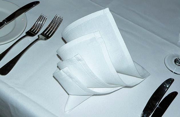 Six Easy Napkin Folds For Your Dinner Table Fabulous