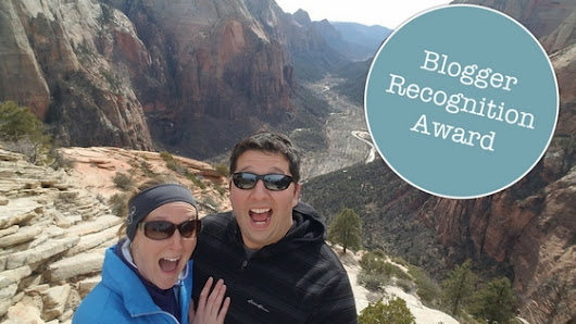I was Nominated for the Blogger Recognition Award! - T and A in the US of A