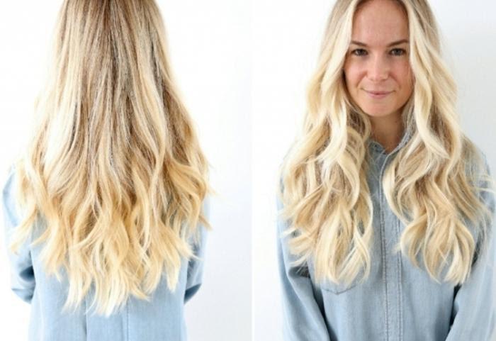 Blonde Frisuren Blonde Lange Haare 2599127 Weddbook