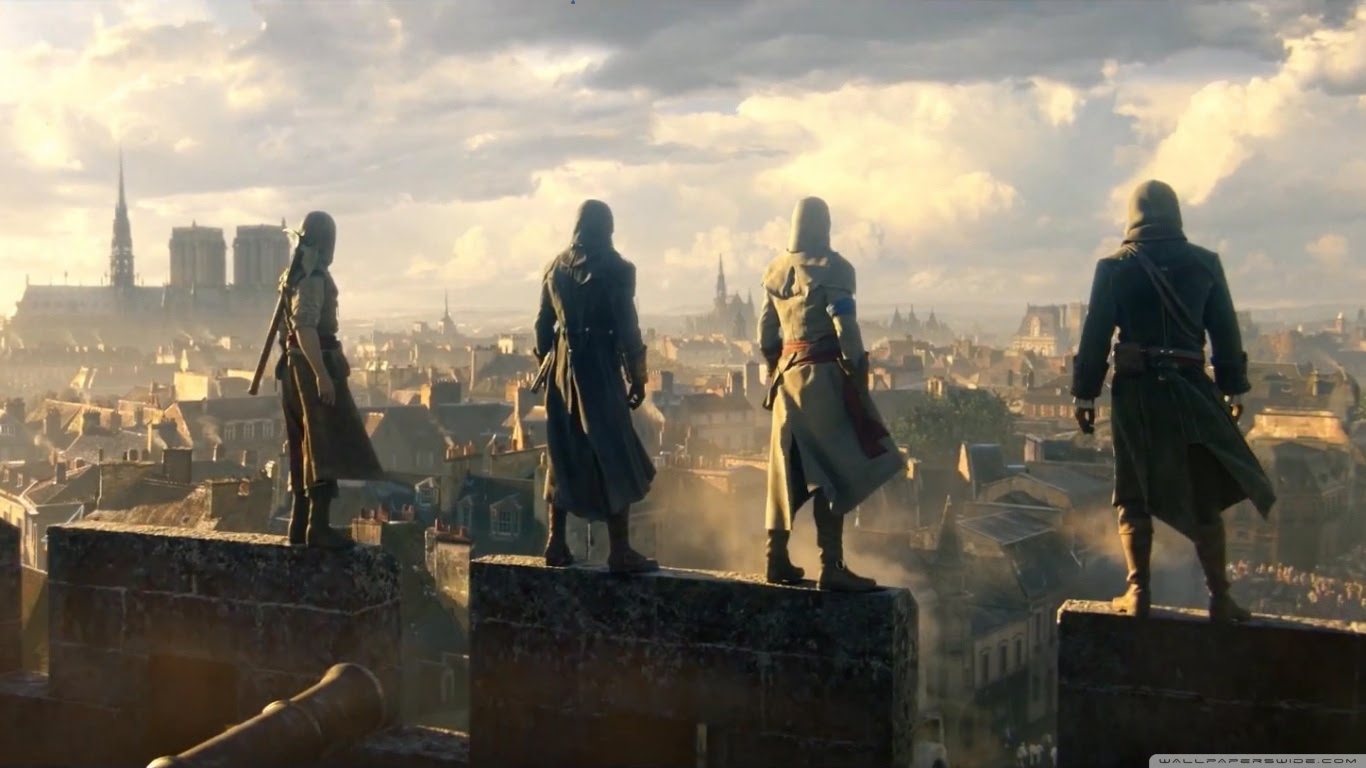 Assassins Creed Unity Ultra Hd Desktop Background Wallpaper For 4k