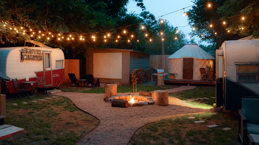 Get the Ultimate Glamping Experience Right Here in Austin