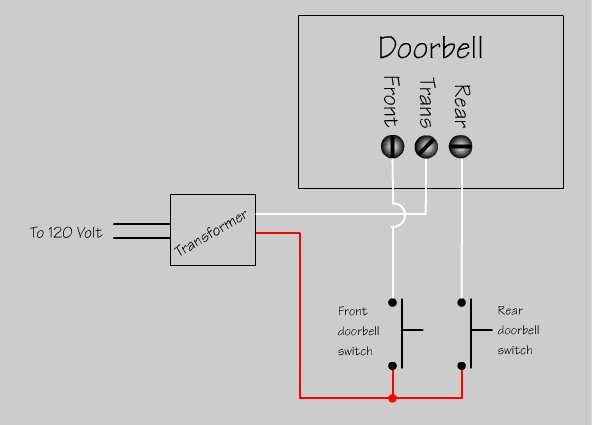 home doorbell wiring diagram