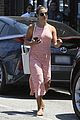 lea michele looks pretty in pink after paying tribute to cory monteith 03