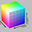 PhiloGL - Real time color 3D histogram