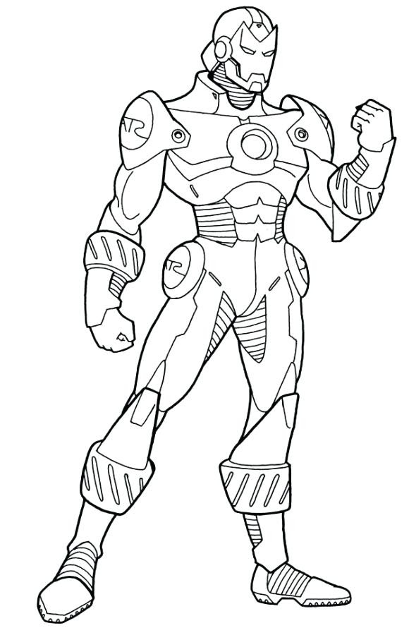 Iron Man Drawing Easy at GetDrawings | Free download