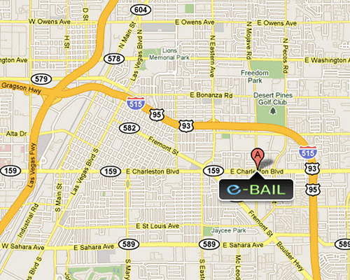 Fianzas en Las Vegas - Las Vegas Bail Bonds eBAIL from $25 per week