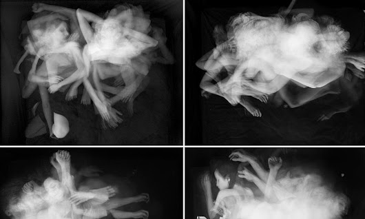Time-lapse photos capture 'nocturnal dance' of lovers as they sleep