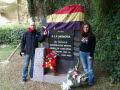 Homenaje en el Cementerio de Montjuïc