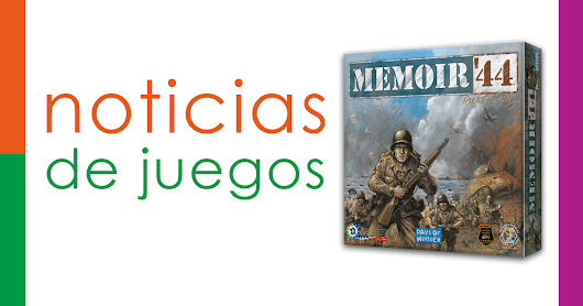 Memoir 44, previsto al castellano por Edge | pickpackplay