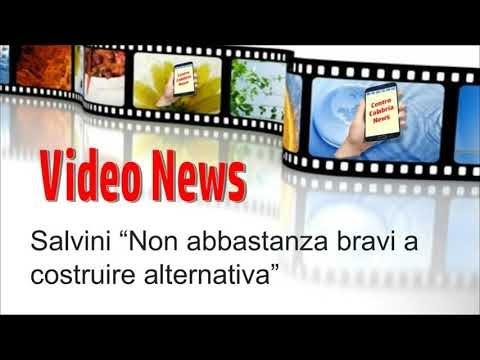 Amministrative, Salvini Non abbastanza bravi a costruire alternativa