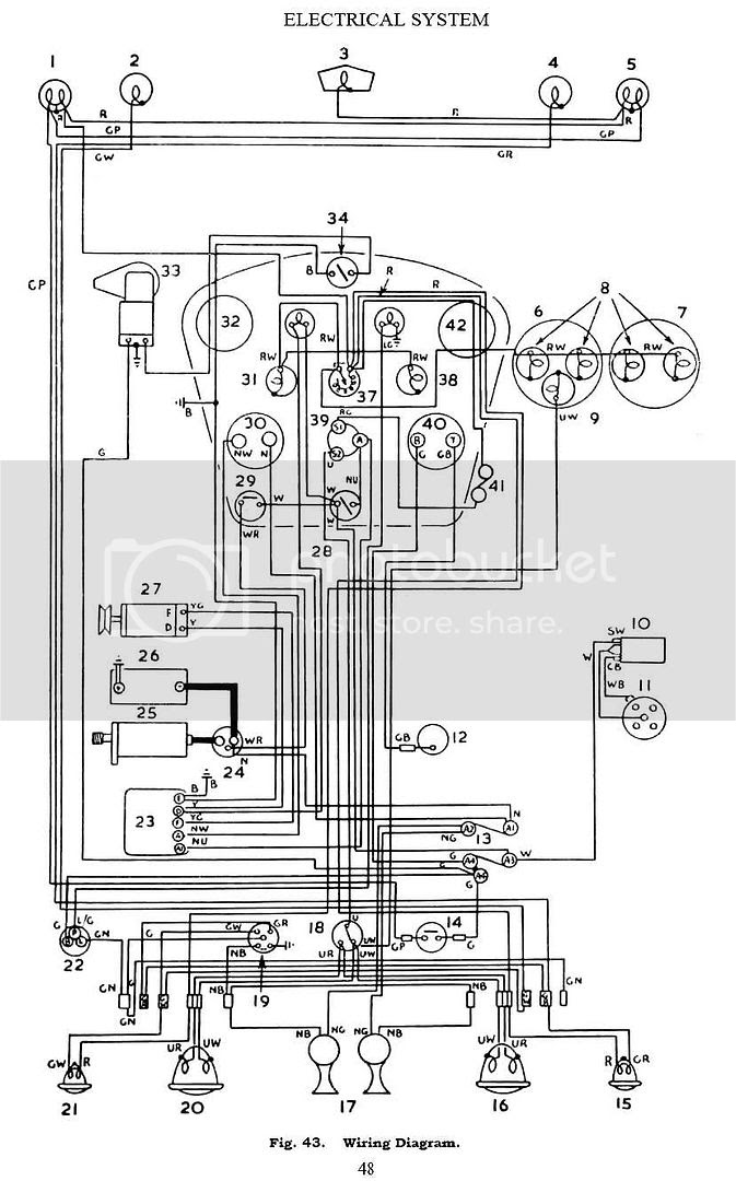 Wiring Diagram For Triumph Spitfire