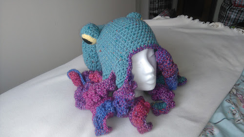 Octopus Hat pattern by Me :)