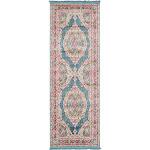 Regla Baracoa Rug, Turquoise (2' 2 x 6' 0)