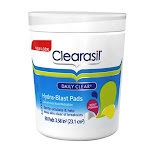 Clearasil Daily Clear Acne Face Pore Cleansing And Hydra Blast Pads - 90 Ea