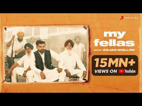 Arjan Dhillon - My Fellas   Official Video   Latest Punjabi Song 2020